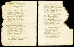 Kölcsey Ferenc: Himnusz kézirat 1-2. oldal